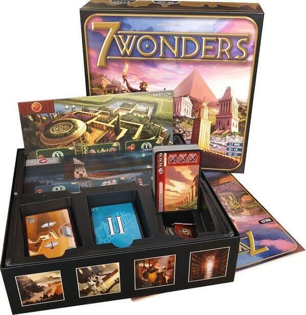 Карточная настольная игра 7 чудес