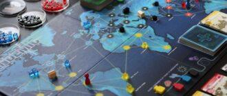 Карточная настольная игра Пандемия